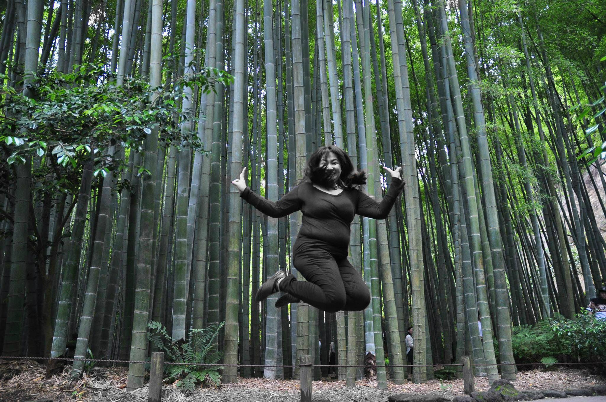 Bamboo garden Jump shot