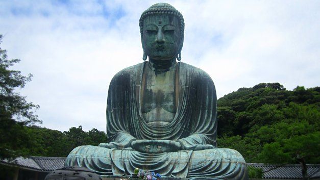 great giant buddha in japan