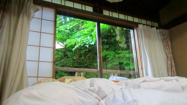 takaragawa onsen futon bed